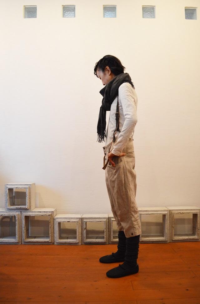 suspender button-down pants 写真02