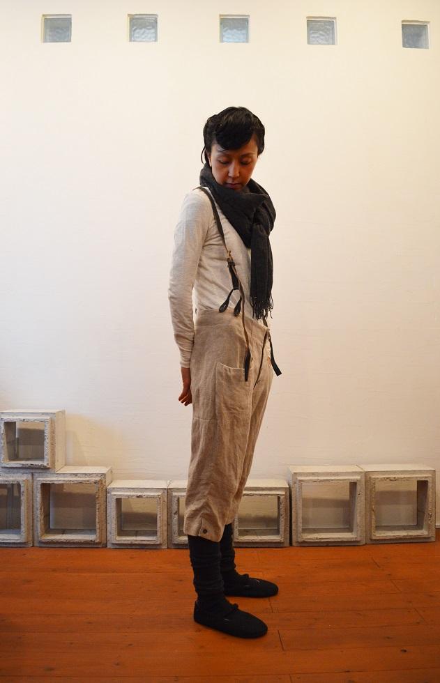 suspender button-down pants 写真03