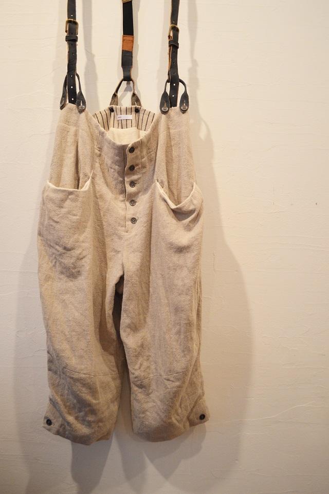 suspender button-down pants 写真05