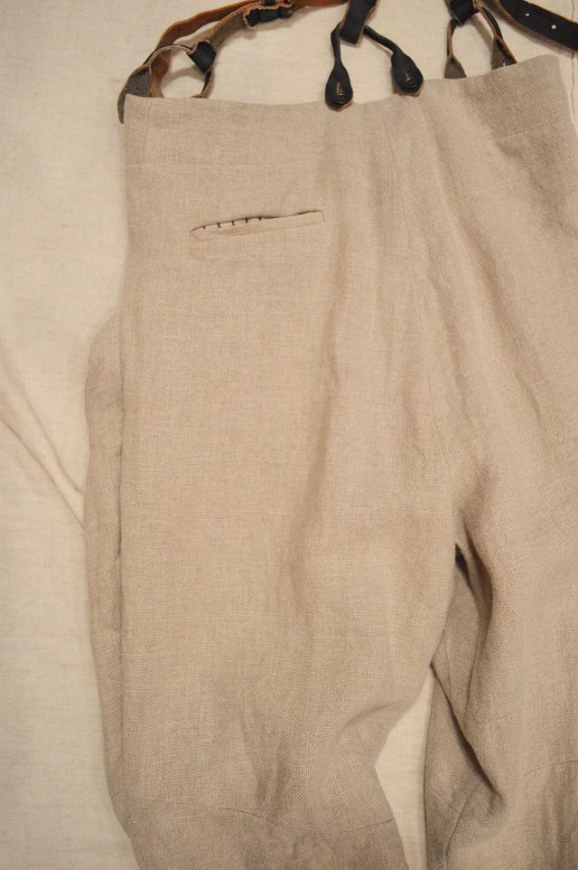 suspender button-down pants 写真07
